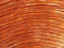 Métal de cuivre d'inducteur Image stock