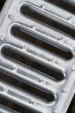 métal de drain de cache Photographie stock