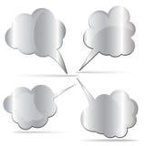 Métal de message Image stock