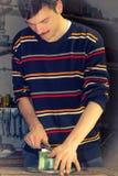 Métal de meulage 2 Photographie stock libre de droits
