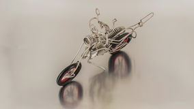Métal de moto Photos libres de droits