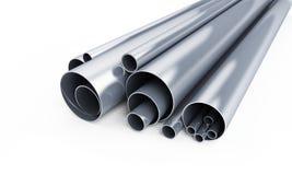 Métal de pipe image stock