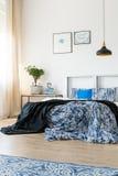 Métal et couleur bleue photographie stock