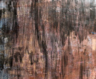 Métal extérieur peint Image stock
