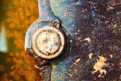 Métal ondulé de feuillard Photo libre de droits
