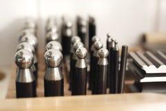 Métal ouvré, outils de bijoux photo stock