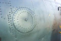 Métal riveté des aéronefs Photo libre de droits