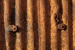 Métal rouillé Photo libre de droits
