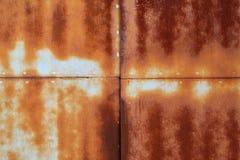 Métal rouillé coloré corrodé par résumé photo libre de droits