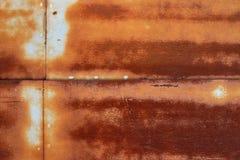 Métal rouillé coloré corrodé par résumé image stock