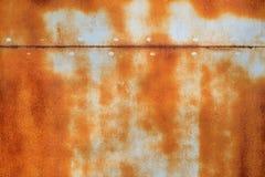 Métal rouillé coloré corrodé par résumé images stock