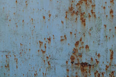 Métal rouillé Texture détaillée de photo Images stock