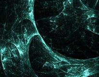 Métal vert Image libre de droits