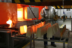 métallurgie Images libres de droits