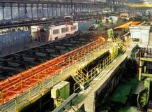 Métallurgie industrielle photographie stock