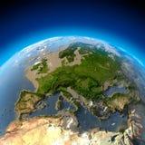 Métaphore pour le désastre écologique Image stock