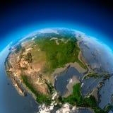 Métaphore pour le désastre écologique Image libre de droits