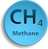 Méthane Image stock