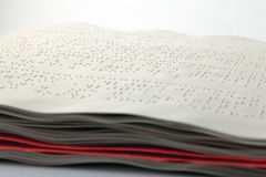 Méthode Braille Photos libres de droits