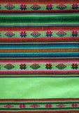 Métier à tisser andin d'Aguayo photos libres de droits