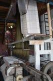 Métier à tisser de tissage de tapis, Turquie Image libre de droits