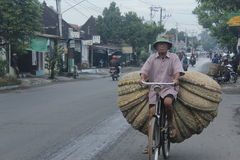 Métier de bambou de Saling Photo stock