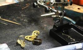 Métier de bijoux Image libre de droits
