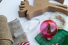 Métier de Noël Photos stock