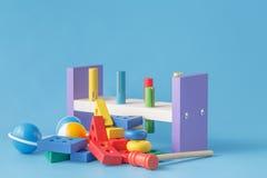 Métier en bois d'enfant Photographie stock libre de droits
