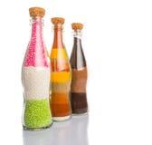 Métier III d'ingrédients de nourriture et de boissons Photographie stock libre de droits