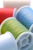Métiers de coton Photos stock