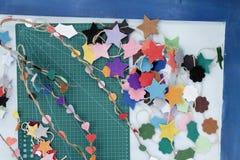 Métiers de décorations de Noël Images stock