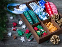 Métiers de Noël Images libres de droits
