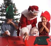 Métiers de Noël Image libre de droits