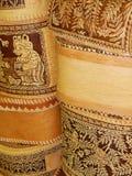 Métiers folkloriques Boîtes de bouleau Photo stock
