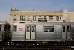Métro à New York City Images stock