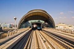 Métro de Dubaï Image libre de droits