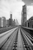 Métro de Dubaï Photo libre de droits