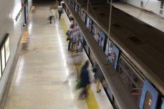 Métro de Lisbonne Photographie stock libre de droits