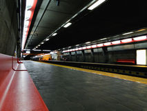 Métro de Montréal photographie stock libre de droits