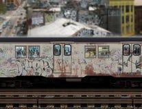 Métro de New York images libres de droits