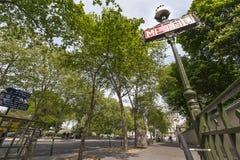 Métro de Paris photo libre de droits