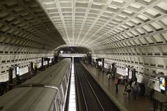 Métro de Washington DC Images stock
