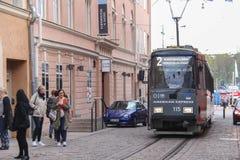 Métro du ` s de la Finlande photographie stock libre de droits
