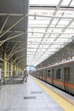 Métro mobile à Pékin Photos stock