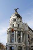 Métropole d'Edificio Photos libres de droits