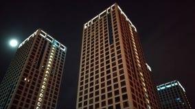 Métropole de nuit photographie stock