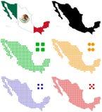 México Ilustração Royalty Free