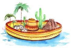 México libre illustration