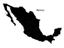 México ilustração do vetor